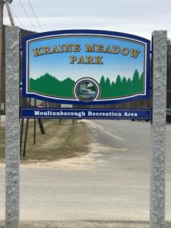 Kraine Meadow Park Sign
